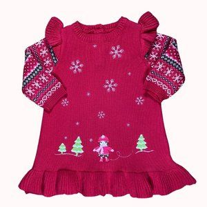 GYMBOREE Christmas Knitted Dress